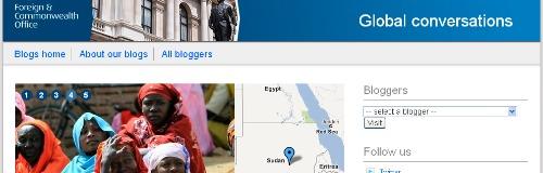Foreign Office blogs