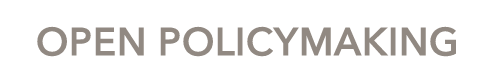 Open policymaking