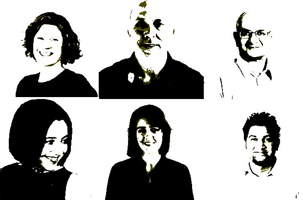 6 head and shoulder photos of members of the Department of Health content team
