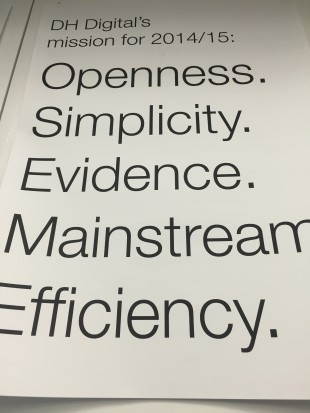 A poster on the wall at DH Digital