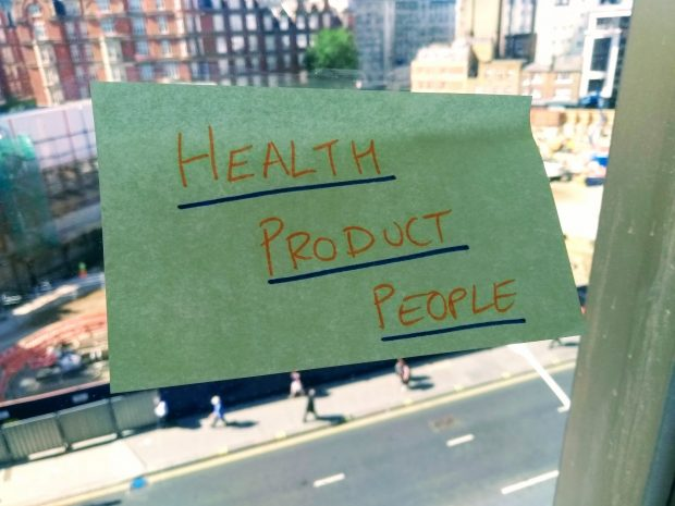 Product people post-it note