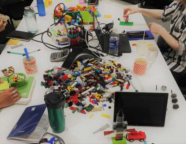 Lego used in a retrospective